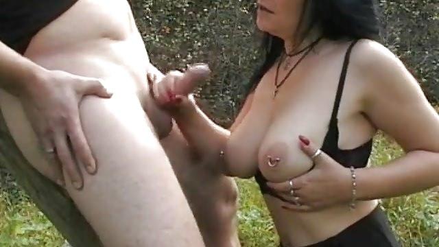 Nackt Abspritzen